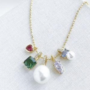 Kate Spade Little Gem Charm Pendant Necklace NWT
